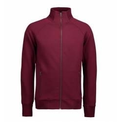 Full Zip Sweat | 628 von ID / Farbe: bordeaux / 60% BAUMWOLLE 40% POLYESTER - | MEIN-KASACK.de | kasack | kasacks | kass