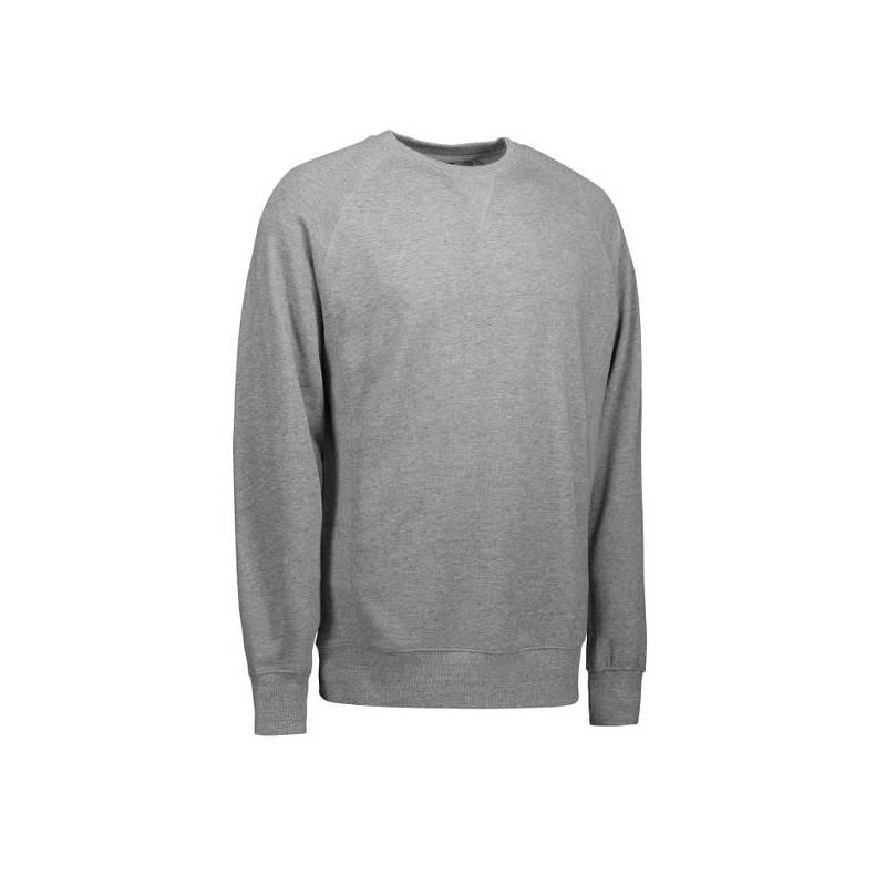 Exklusives Herren Sweatshirt | 613 von ID / Farbe: grau / 75% BAUMWOLLE 15% POLYESTER 10% VISKOSE - | MEIN-KASACK.de | k