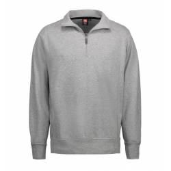 Herren Sweatshirt | 603 von ID / Farbe: grau / 75% BAUMWOLLE 15% POLYESTER 10% VISKOSE - | MEIN-KASACK.de | kasack | kas