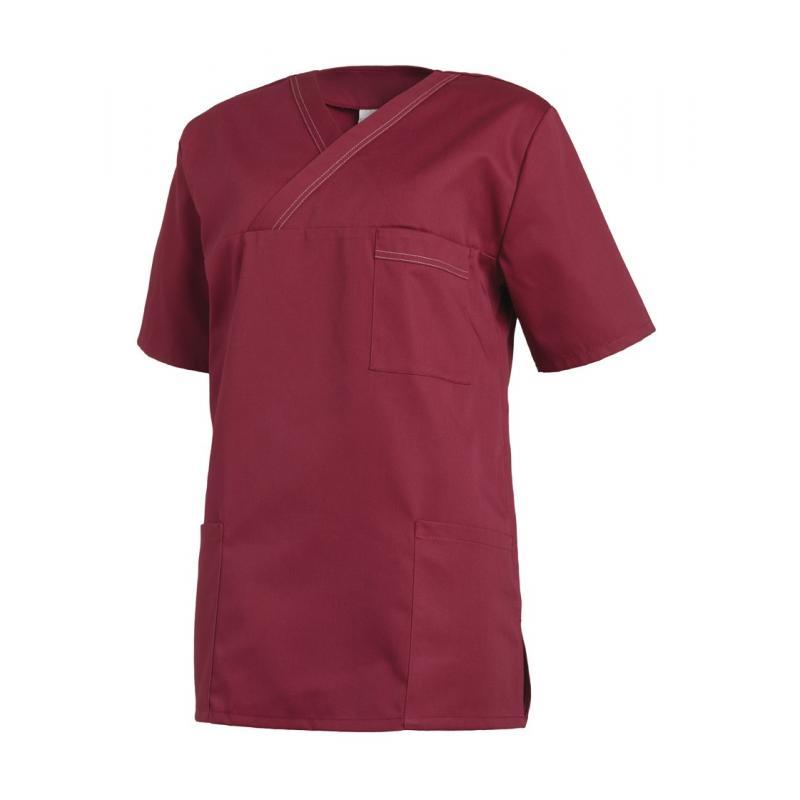 Heute im Angebot: Chasuble 264 von LEIBER / Farbe: weiß-schwarz / 65 % Polyester 35 % Baumwolle  HERRENKASACK - Damenkasack - Kasack Damen - Kasack Pflege
