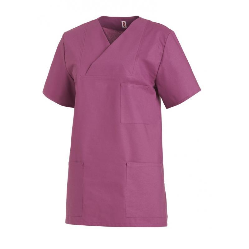 Heute im Angebot: PRO Wear Damen T-Shirt | 3/4-Arm 313 von ID / Farbe: rot / 60% BAUMWOLLE 40% POLYESTER jetzt günstig kaufen - BERUFSBEKLEIDUNG MEDIZIN - SCHLUPFKASACK - BERUFSBEKLEIDUNG MEDIZIN - MEDIZINISCHE BEKLEIDUNG - BERUFSKLEIDUNG MEDIZIN