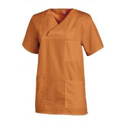 Herren - Schlupfjacke 769 von LEIBER / Farbe: orange / 50 % Baumwolle 50 % Polyester - | Wenn Kasack - Dann MEIN-KASACK.