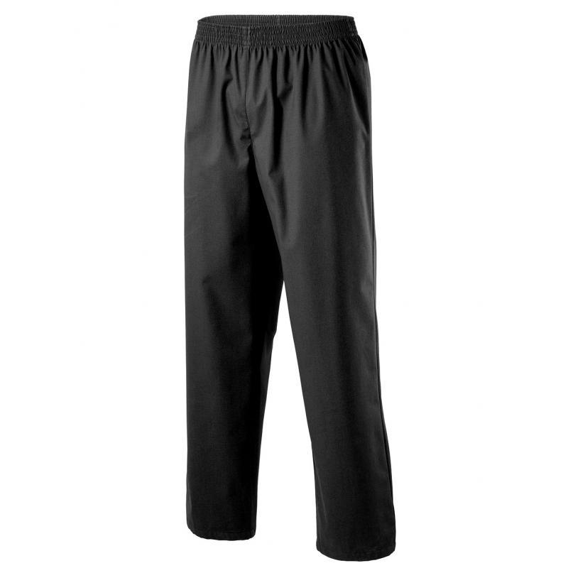 Herren - Schlupfhose 330 von EXNER / Farbe: schwarz / 50% Baumwolle, 50% Polyester, 175 g - | Wenn Kasack - Dann MEIN-KA