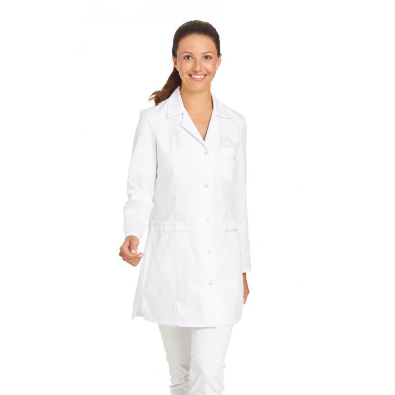 Damenkasack / Longkasack - 2434 von LEIBER / Farbe: weiß / 65 % Polyester 35 % Baumwolle - | MEIN-KASACK.de | kasack | k