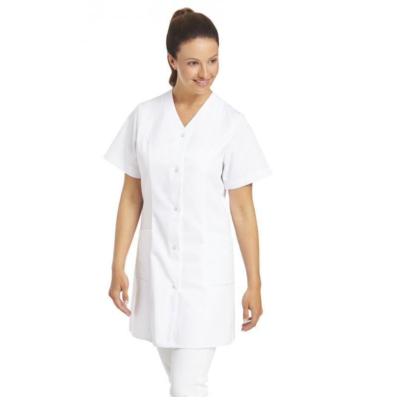 Kasack 459 von LEIBER / Farbe: weiß / 65 % Polyester 35 % Baumwolle - | Wenn Kasack - Dann MEIN-KASACK.de | Kasacks für