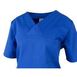 Damen -  Kasack 2651 von MEIN-KASACK.de / Farbe: kornblau / 65%PES - 35%BW - 170g/m² - 3