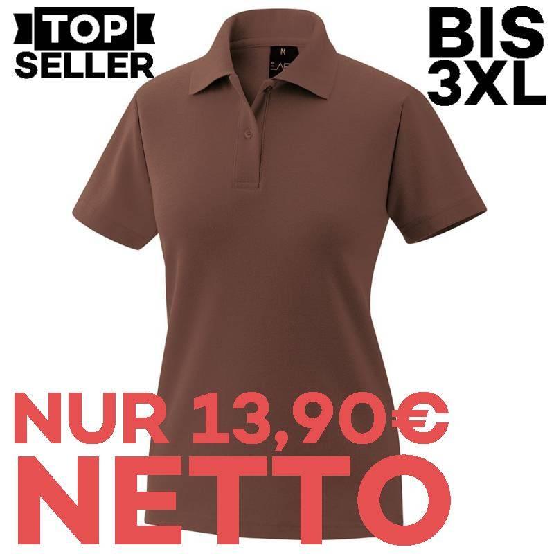 Damen-Poloshirt 983 von EXNER / Farbe: toffee / 65% Baumwolle 35% Polyester - | MEIN-KASACK.de | kasack | kasacks | kass