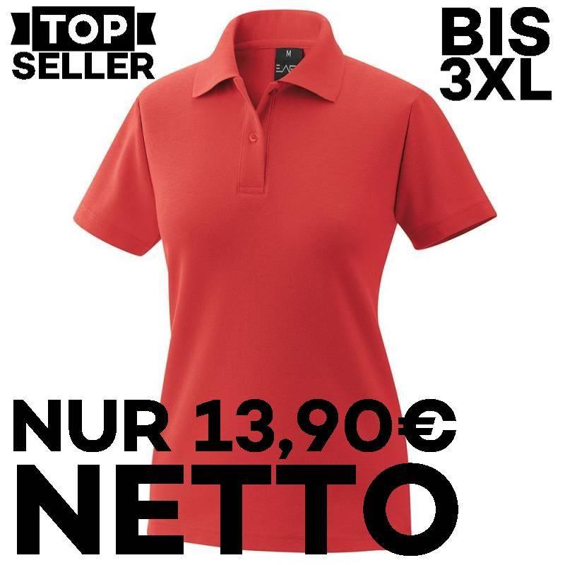 Damen-Poloshirt 983 von EXNER / Farbe: rot / 65% Baumwolle 35% Polyester - | MEIN-KASACK.de | kasack | kasacks | kassak