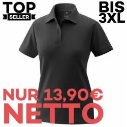 Damen-Poloshirt 983 von EXNER / Farbe: schwarz / 65% Baumwolle 35% Polyester - | MEIN-KASACK.de | kasack | kasacks | kas