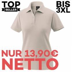 Damen-Poloshirt 983 von EXNER / Farbe: sand / 65% Baumwolle 35% Polyester - | MEIN-KASACK.de | kasack | kasacks | kassak