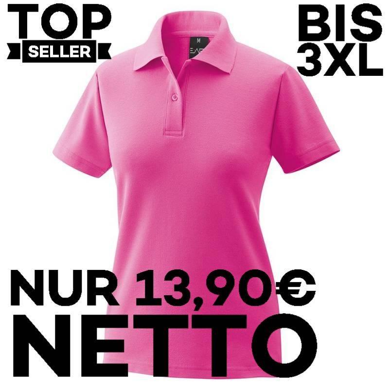 Damen-Poloshirt 983 von EXNER / Farbe: magenta / 65% Baumwolle 35% Polyester - | MEIN-KASACK.de | kasack | kasacks | kas