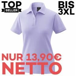Damen-Poloshirt 983 von EXNER / Farbe: flieder/ 65% Baumwolle 35% Polyester - | MEIN-KASACK.de | kasack | kasacks | kass