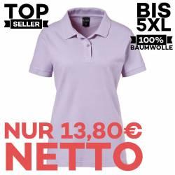 Damen-Poloshirt 983 von EXNER / Farbe: flieder / 100% Baumwolle - 1