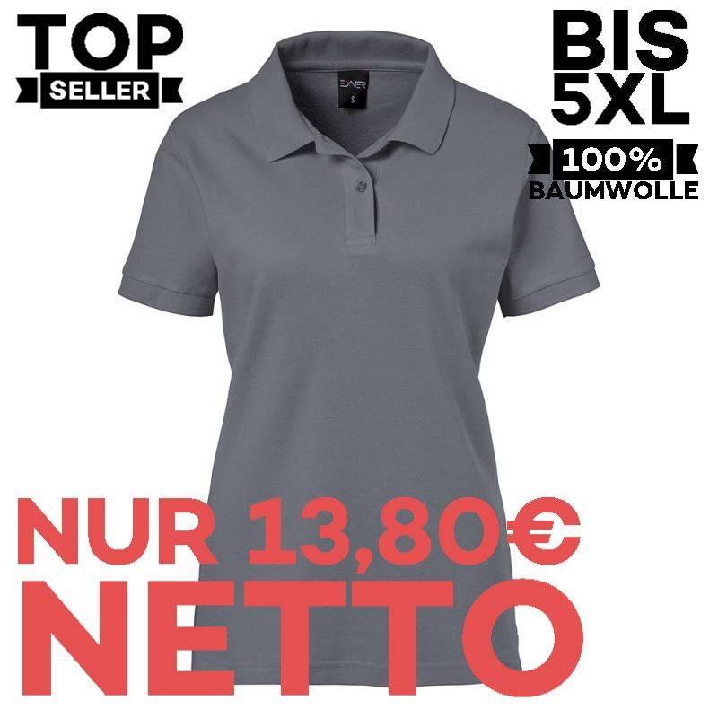 Damen-Poloshirt 983 von EXNER / Farbe: graphit / 100% Baumwolle - 1