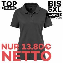 Damen-Poloshirt 983 von EXNER / Farbe: schwarz / 100% Baumwolle - 1