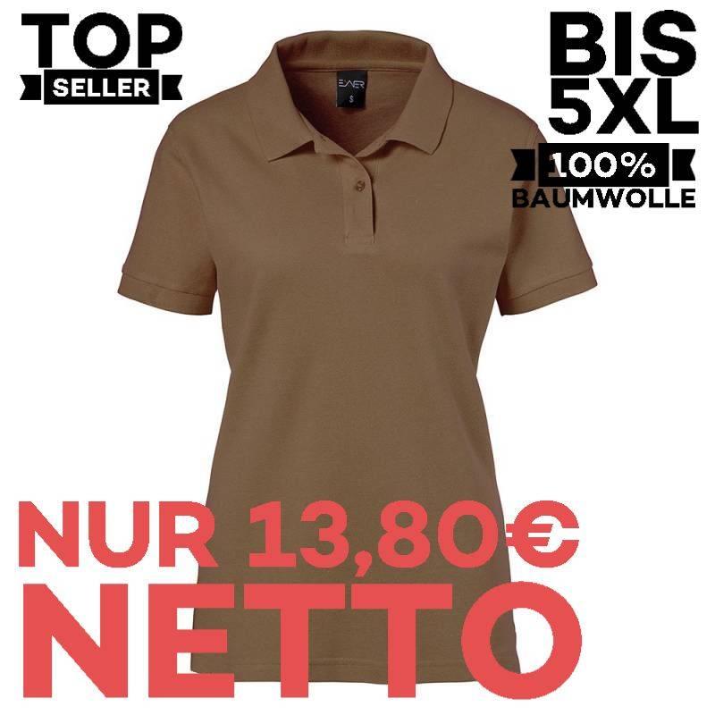 Damen-Poloshirt 983 von EXNER / Farbe: toffee / 100% Baumwolle - | MEIN-KASACK.de | kasack | kasacks | kassak | berufsbe