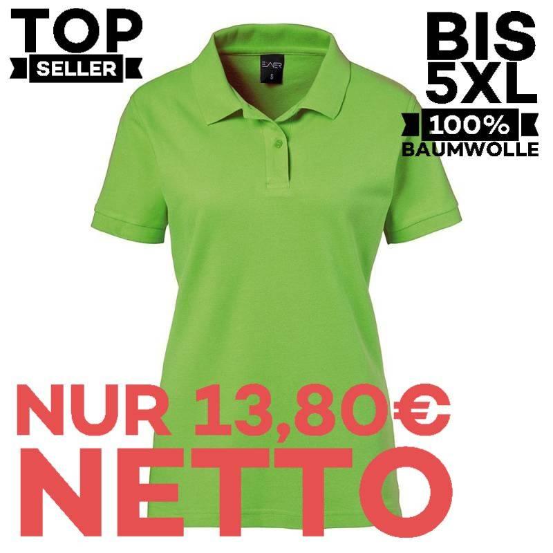 Damen-Poloshirt 983 von EXNER / Farbe: lemongreen / 100% Baumwolle - 1