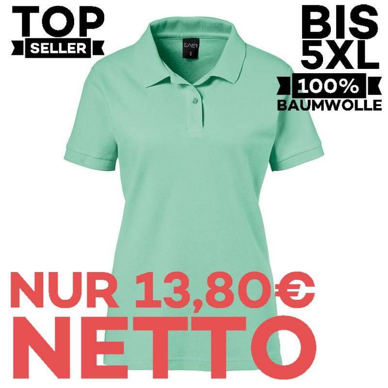 Damen-Poloshirt 983 von EXNER / Farbe: mint / 100% Baumwolle - 1