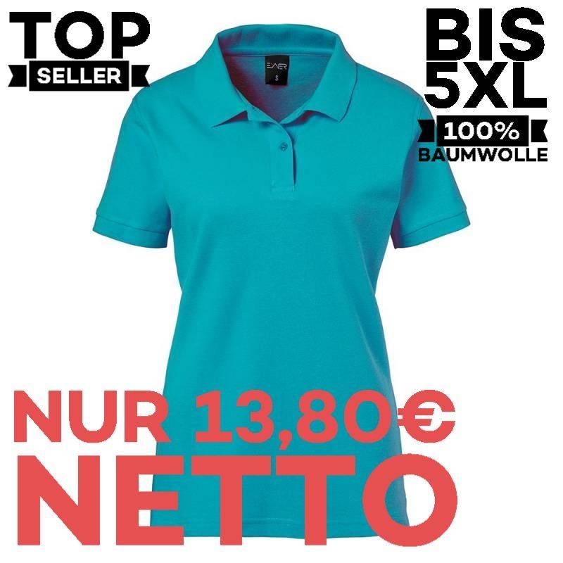 Damen-Poloshirt 983 von EXNER / Farbe: teal / 100% Baumwolle - | MEIN-KASACK.de | kasack | kasacks | kassak | berufsbekl
