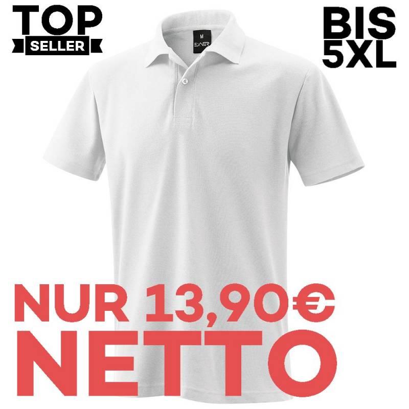 Herren - Poloshirt 982 von EXNER / Farbe: weiß / 65% Baumwolle 35% Polyester - | MEIN-KASACK.de | kasack | kasacks | kas