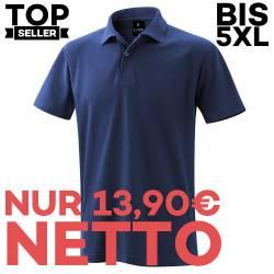 Herren - Poloshirt 982 von EXNER / Farbe: marine / 65% Baumwolle 35% Polyester - | MEIN-KASACK.de | kasack | kasacks | k