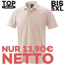 Herren - Poloshirt 982 von EXNER / Farbe: sand / 65% Baumwolle 35% Polyester - | MEIN-KASACK.de | kasack | kasacks | kas