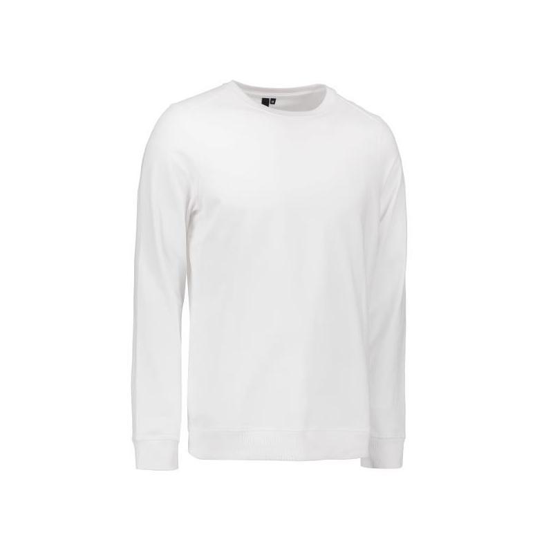 Herren - Sweatshirt CORE O-Neck Sweat 615 von ID / Farbe: weiß / 50% BAUMWOLLE 50% POLYESTER -   Wenn Kasack - Dann MEIN
