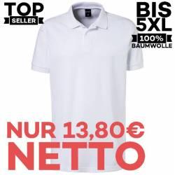 Herren - Poloshirt 982 von EXNER / Farbe: weiß / 100% Baumwolle - | MEIN-KASACK.de | kasack | kasacks | kassak | berufsb