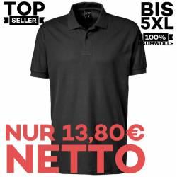 Herren - Poloshirt 982 von EXNER / Farbe: schwarz / 100% Baumwolle - | MEIN-KASACK.de | kasack | kasacks | kassak | beru