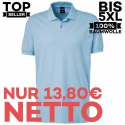 Herren - Poloshirt 982 von EXNER / Farbe: light blue / 100% Baumwolle - | MEIN-KASACK.de | kasack | kasacks | kassak | b
