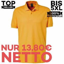 Herren - Poloshirt 982 von EXNER / Farbe: gelb / 100% Baumwolle - | MEIN-KASACK.de | kasack | kasacks | kassak | berufsb