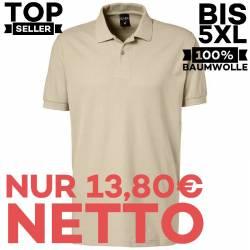 Herren - Poloshirt 982 von EXNER / Farbe: sand / 100% Baumwolle - | MEIN-KASACK.de | kasack | kasacks | kassak | berufsb