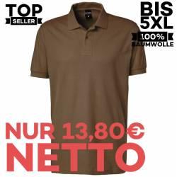 Herren - Poloshirt 982 von EXNER / Farbe: toffee / 100% Baumwolle - | MEIN-KASACK.de | kasack | kasacks | kassak | beruf