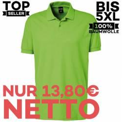 Herren - Poloshirt 982 von EXNER / Farbe: lemon green / 100% Baumwolle - | MEIN-KASACK.de | kasack | kasacks | kassak |