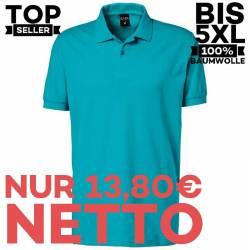 Herren - Poloshirt 982 von EXNER / Farbe: teal / 100% Baumwolle - | MEIN-KASACK.de | kasack | kasacks | kassak | berufsb