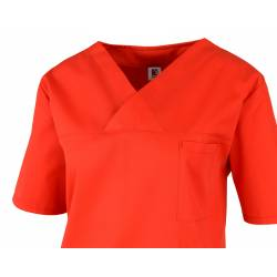Damen -  Kasack 2651 von MEIN-KASACK.de und BEB / Farbe: rot / 65%PES - 35%BW - 170g/m² - 3