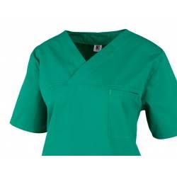 Damen -  Kasack 2651 von MEIN-KASACK.de / Farbe: dunkelgrün / 65%PES - 35%BW - 170g/m² - | MEIN-KASACK.de | kasack | kas