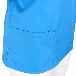 Damen -  Kasack 2651 von MEIN-KASACK.de / Farbe: azur / 65%PES - 35%BW - 170g/m² - | MEIN-KASACK.de | kasack | kasacks |