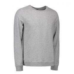 Herren - Sweatshirt CORE O-Neck Sweat 615 von ID / Farbe: grau / 50% BAUMWOLLE 50% POLYESTER - | MEIN-KASACK.de | kasack