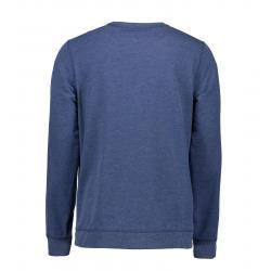 Herren - Sweatshirt CORE O-Neck Sweat 615 von ID / Farbe: blau / 50% BAUMWOLLE 50% POLYESTER - | MEIN-KASACK.de | kasack