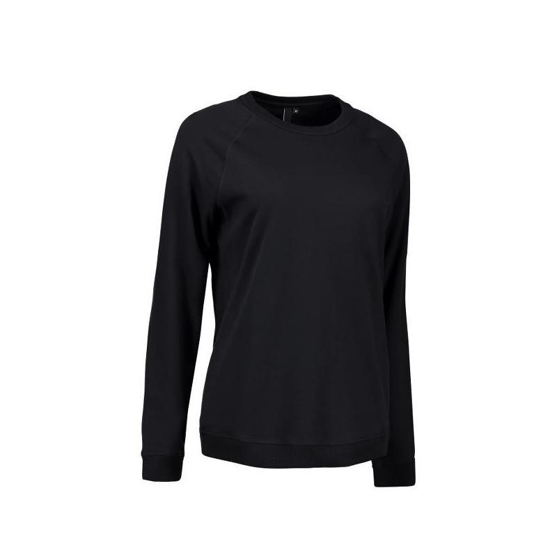 Damen - Sweatshirt CORE O-Neck Sweat 616 von ID / Farbe: schwarz / 50% BAUMWOLLE 50% POLYESTER - | MEIN-KASACK.de | kasa