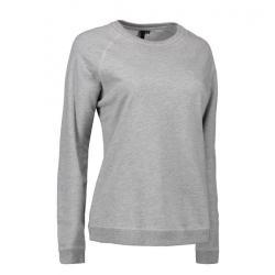 Damen - Sweatshirt CORE O-Neck Sweat 616 von ID / Farbe: grau / 50% BAUMWOLLE 50% POLYESTER - | MEIN-KASACK.de | kasack