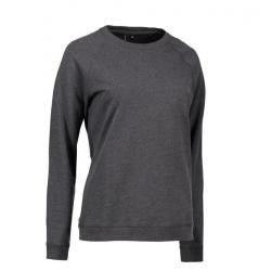 Damen - Sweatshirt CORE O-Neck Sweat 616 von ID / Farbe: koks / 50% BAUMWOLLE 50% POLYESTER - | Wenn Kasack - Dann MEIN-