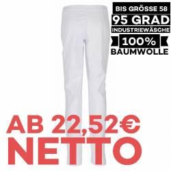 Damen - Bundhose 801 von BEB / Farbe: weiß / 100% Baumwolle - 1