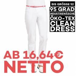 Damenhose 6970 von LEIBER / Farbe: weiß / 65 % Polyester 35 % Baumwolle - 1