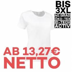 GAME Active Damen T-Shirt 571 von ID / Farbe: weiß / 100% POLYESTER - 1