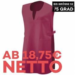 Überwurfschürze 12120 von EXNER / Farbe: bordeaux / 65% Polyester 35% Baumwolle - 1