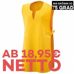 Überwurfschürze 12120 von EXNER / Farbe: gelb / 65% Polyester 35% Baumwolle - 1