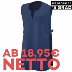 Überwurfschürze 12120 von EXNER / Farbe: navy / 65% Polyester 35% Baumwolle - 1