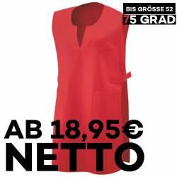 Überwurfschürze 12120 von EXNER / Farbe: rot / 65% Polyester 35% Baumwolle - 1